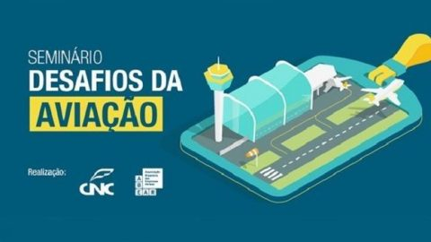 Seminário debate os desafios para a aviação brasileira.