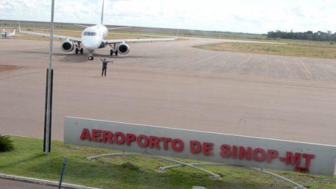 Homologação final dos equipamentos do aeroporto de Sinop será na próxima semana.
