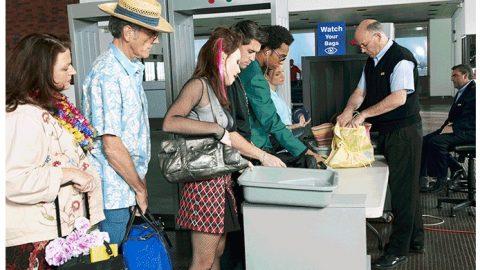 Aplicativo diminui tempo na fila em aeroporto.