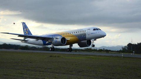 Novo avião da Embraer prova ser o mais eficiente entre as aeronaves de corredor único.
