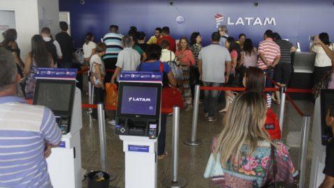 Movimentação de passageiros do aeroporto aumenta 5%.