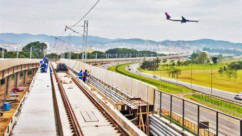 GRU e SSA terão conexões por trem e metrô nesse mês.