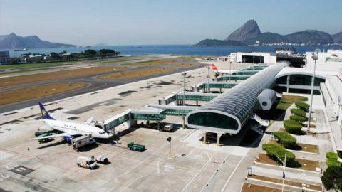 Aeroporto Santos Dumont usa água da chuva em sistema de refrigeração.