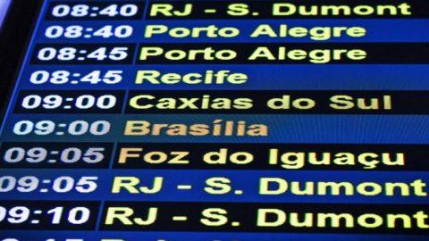 Os aeroportos brasileiros mais baratos para viajar ao exterior.