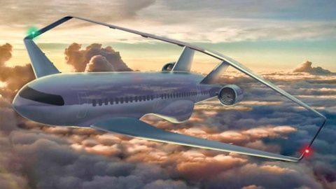Novo design de asas de avião promete revolucionar o setor de transporte aéreo.