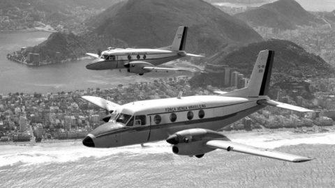 Cerimônia marca cinquentenário do primeiro voo do Bandeirante.