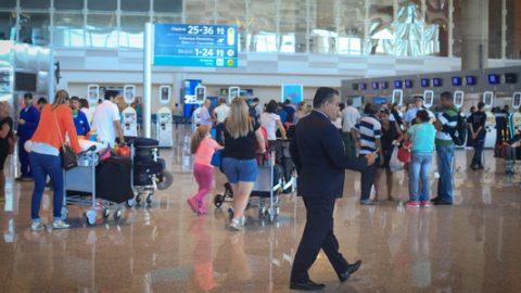 Começa operação de Fim de Ano nos aeroportos.