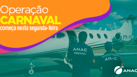 Operação Carnaval nos aeroportos começa nesta segunda-feira.