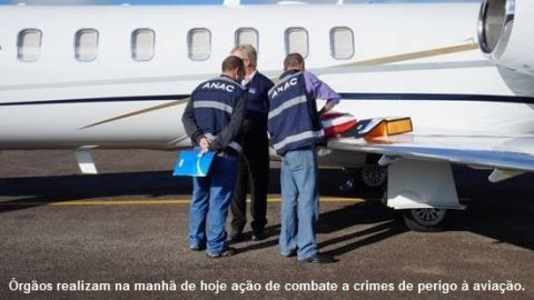 Polícia Federal e ANAC deflagram Operação Dédalo em SC, PR e SP
