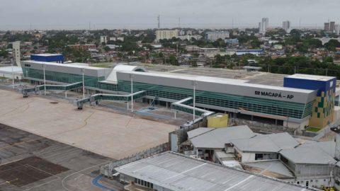 Infraero entrega o novo aeroporto do Macapá.
