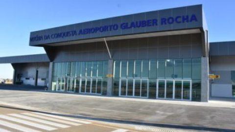 Inauguração do Aeroporto Glauber Rocha: Passaredo e Azul devem entrar em operação no dia 25 de julho