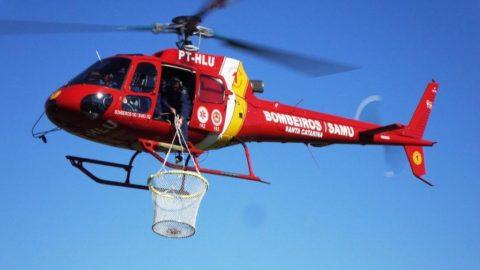 Aeronave do Corpo de Bombeiros ficará sediada em Cabo Frio
